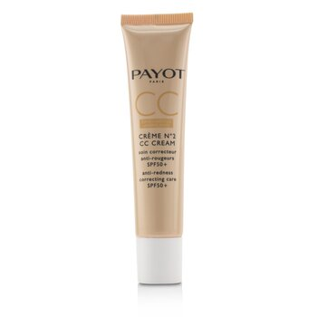 Creme N?2 CC Cream - Anti-Redness Correcting Care SPF50+ (40ml/1.3oz)