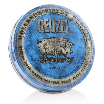 Blue Pomade (Strong Hold, Water Soluble) (113g/4oz)