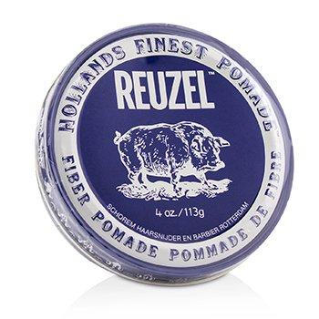 Fiber Pomade (Firm, Pliable, Low Shine, Water Soluble) (113g/4oz)