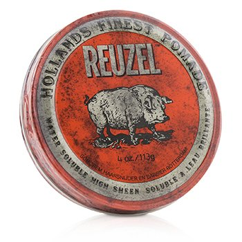 Red Pomade (Water Soluble, High Sheen) (113g/4oz)