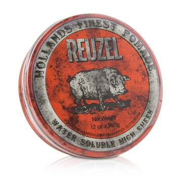Red Pomade (Water Soluble, High Sheen) (340g/12oz)