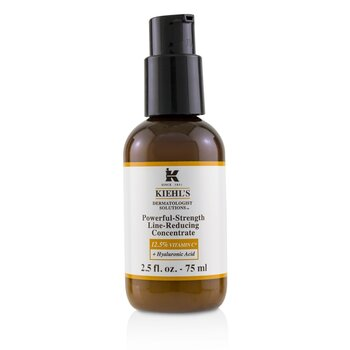 Dermatologist Solutions Powerful-Strength Line-Reducing Concentrate (With 12.5% Vitamin C + Hyaluronic Acid) (75ml/2.5oz)
