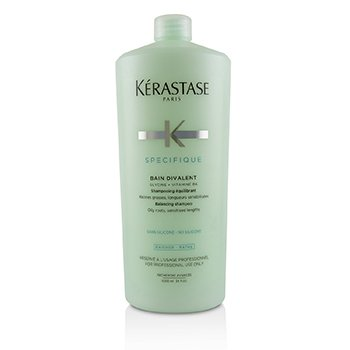 Specifique Bain Divalent Balancing Shampoo (Oily Roots, Sensitised Lengths) (1000ml/34oz)