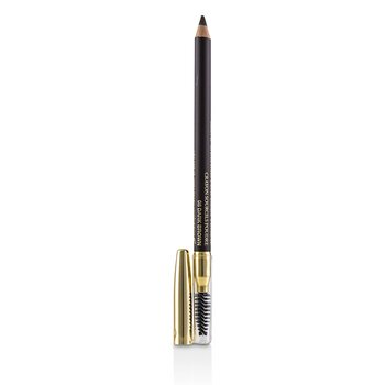 Brow Shaping Powdery Pencil - # 08 Dark Brown (1.19g/0.042oz)