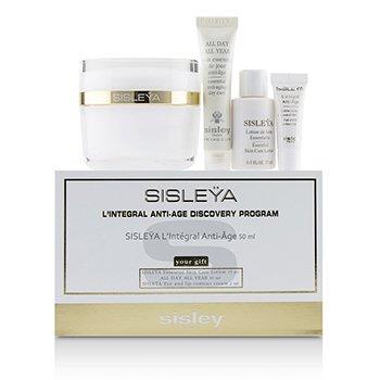 Sisleya L'Integral Anti-Age Discovery Program: Sisleya Face 50ml, Sisleya Lotion 15ml, Sisleya Eye 2ml, All Day All Year 10ml (4pcs)