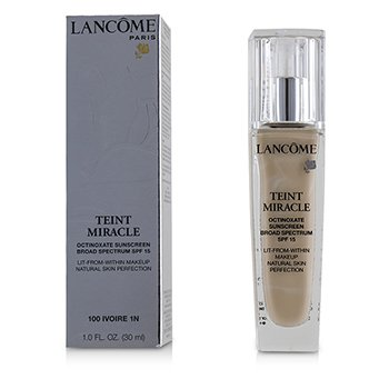 Teint Miracle Natural Skin Perfection SPF 15 - # 100 Ivoire 1N (US Version) (30ml/1oz)