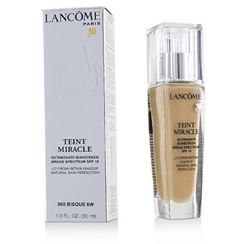 Teint Miracle Natural Skin Perfection SPF 15 - # 360 Bisque 6W (US Version) (30ml/1oz)