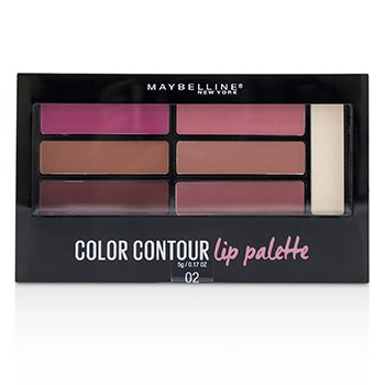 Color Contour Lip Palette - # 02 Blushed Bombshell (5g/0.17oz)