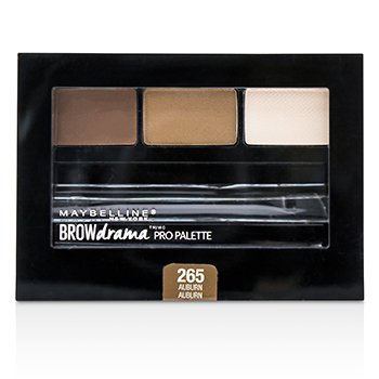 Maybelline 媚比琳 眉彩盤 Brow Drama Pro Palette Duo Pack - # 265 Auburn 2.8g/0.1oz - 眉筆/眉粉