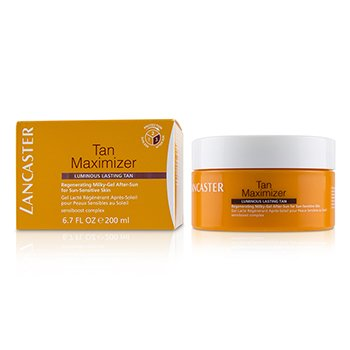 Tan Maximizer Regenerating Milky-Gel After-Sun For Sun-Sensitive Skin - Luminous Lasting Tan (200ml/6.7oz)
