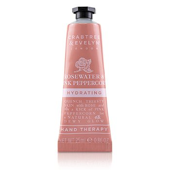 Rosewater & Pink Peppercorn Hydrating Hand Therapy (25ml/0.86oz)