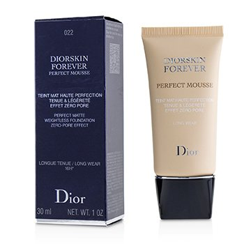 Diorskin Forever Perfect Mousse Foundation - # 022 Cameo (30ml/1oz)