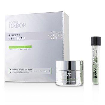 Doctor Babor Purity Cellular SOS De-Blemish Kit: De-Blemish Cream 50ml/1.7oz + De-Blemish Powder 5g/0.16oz (2pcs)