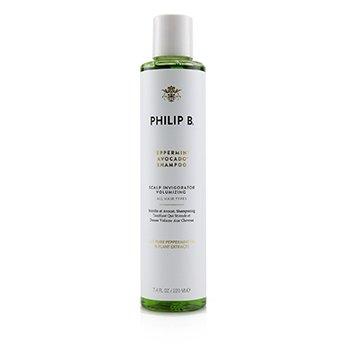 Peppermint Avocado Shampoo (Scalp Invigorator Volumizing - All Hair Types) (220ml/7.4oz)