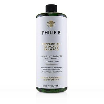 Peppermint Avocado Shampoo (Scalp Invigorator Volumizing - All Hair Types) (947ml/32oz)