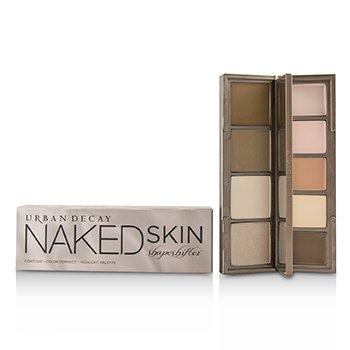 Naked Skin Shapeshifter Contour, Color Correct, Highlight Palette - # Light Medium Shift (6g/0.21oz)