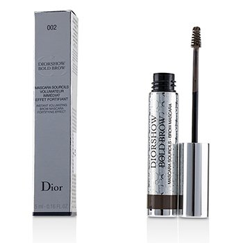 Diorshow Bold Brow Instant Volumizing Brow Mascara - # 002 Dark (5ml/0.16oz)