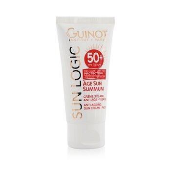 Sun Logic Age Sun Summum Ant-Ageing Sun Cream For Face SPF 50+ (50ml/1.7oz)