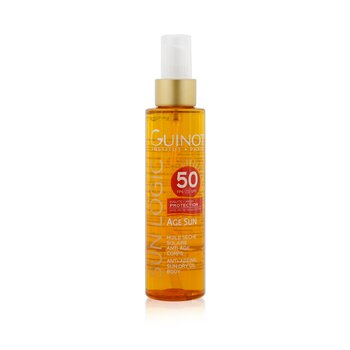 Sun Logic Age Sun Anti-Ageing Sun Dry Oil For Body SPF 50 (150ml/5.07oz)