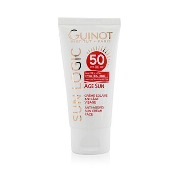 Sun Logic Age Sun Anti-Ageing Sun Cream For Face SPF 50 (50ml/1.4oz)