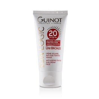 Sun Logic Uni Bronze Anti-Ageing Tinted Sun Cream For Face SPF 20 (50ml/1.4oz)
