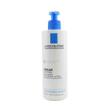 Lipikar Lotion Daily Repair Moisturizing Lotion For Body & Face - For Normal to Dry Skin (400ml/13.52oz)
