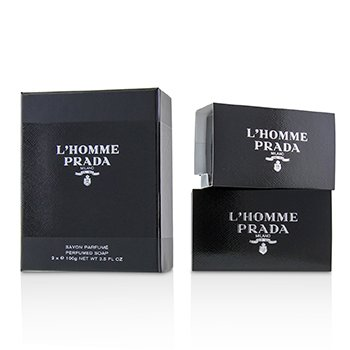 L'Homme Perfumed Soap (2x100g/3.5oz)