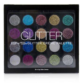 Glitter Creme Palette (20x Eyeshadow) (20x0.5g/0.017oz)