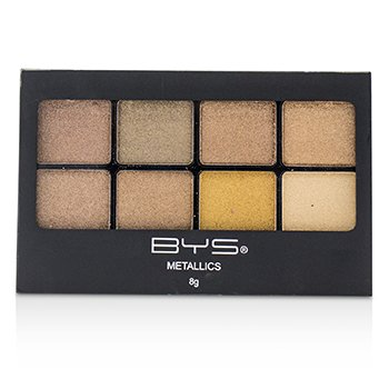 8 Palette Metallic Eyeshadow - # Metallics Browns (8g/0.27oz)