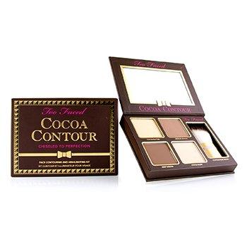 Cocoa Contour Face Contouring And Highlighting Kit - # Medium to Deep (16.2g/0.56oz)
