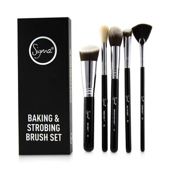 Baking & Strobing Brush Set (5pcs)
