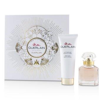 Guerlain Mon Guerlain Coffret: EDP Spray 30ml/1oz + Perfumed Body Lotion 75ml/2.5oz 2pcs