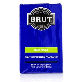 Brut Revolution Bar Soap (2x99g/3.5oz)