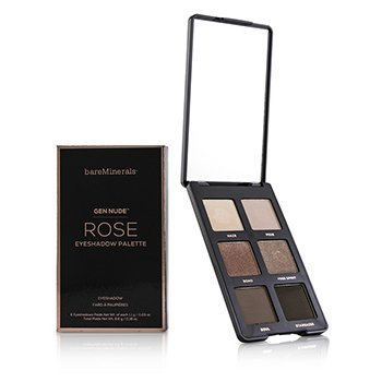 Gen Nude Eye Shadow Palette  - # Rose (6x1.1g/0.03oz)