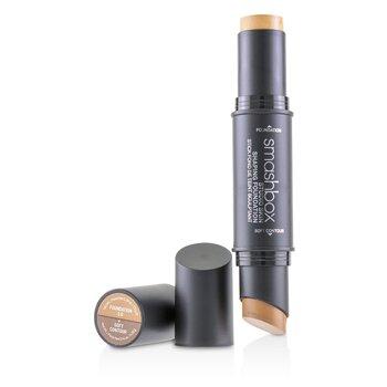 Smashbox Studio Skin Shaping Foundation + Soft Contour Stick - # 3.0 Warm Beige 11.75g/0.4oz - 粉底及蜜粉