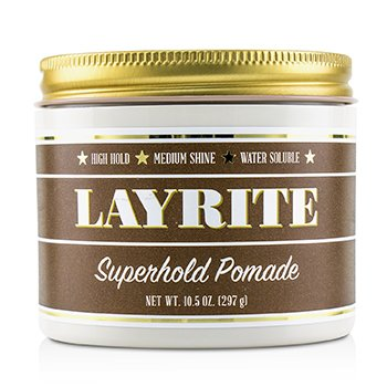 Superhold Pomade (High Hold, Medium Shine, Water Soluble) (297g/10.5oz)