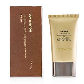 HourGlass 玻尿酸潤色隔離霜 粉底液Illusion Hyaluronic Skin Tint SPF 15 - # Vanilla 30ml/1oz - 粉底及蜜粉