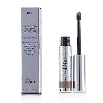 Diorshow All Day Waterproof Brow Ink - # 011 Light (3.7ml/0.12oz)
