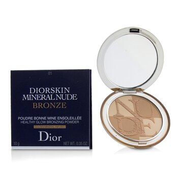 Diorskin Mineral Nude Bronze Healthy Glow Bronzing Powder - # 01 Soft Sunrise (10g/0.35oz)