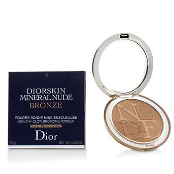 Diorskin Mineral Nude Bronze Healthy Glow Bronzing Powder - # 03 Soft Sundown (10g/0.35oz)