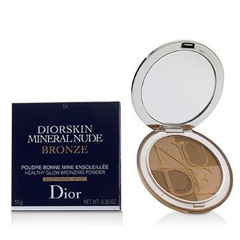 Diorskin Mineral Nude Bronze Healthy Glow Bronzing Powder - # 04 Warm Sunrise (10g/0.35oz)
