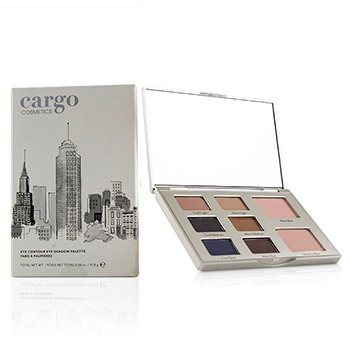 Eye Contour Eye Shadow Palette - # 02 (10.8g/0.38oz)