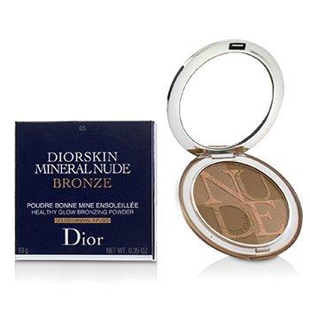 Diorskin Mineral Nude Bronze Healthy Glow Bronzing Powder - # 05 Warm Sunlight (10g/0.35oz)