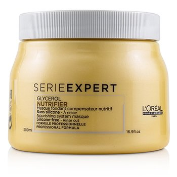 Professionnel Serie Expert - Nutrifier Glycerol Nourishing System Silicone-Free Masque (500ml/16.9oz)