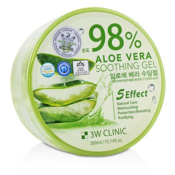 98% Aloe Vera Soothing Gel (300ml/10.14oz)