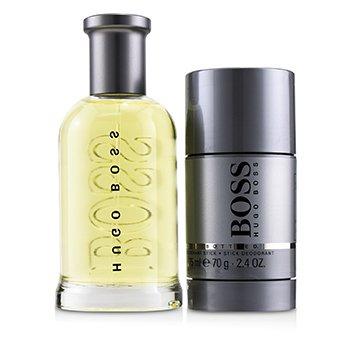 Boss Bottled Coffret: Eau De Toilette Spray 100ml/3.3oz + Deodorant Stick 70g/2.4oz (2pcs)