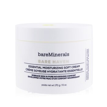 Bare Haven Essential Moisturizing Soft Cream - Normal To Dry Skin Types (Salon Size) (170g/6oz)