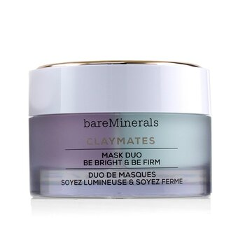 Claymates Be Bright & Be Firm Mask Duo (58g/2.04oz)