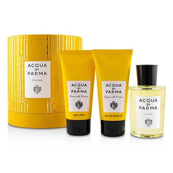 Colonia Coffret: Eau De Cologne Spray 100ml/3.4oz + Bath And Shower Gel 75ml/2.5oz + Body Cream 75ml/2.5oz (3pcs)