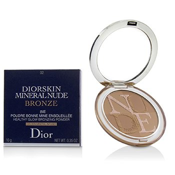 Diorskin Mineral Nude Bronze Healthy Glow Bronzing Powder - # 02 Soft Sunlight (10g/0.35oz)